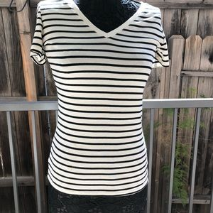 Merona striped short sleeved Tee